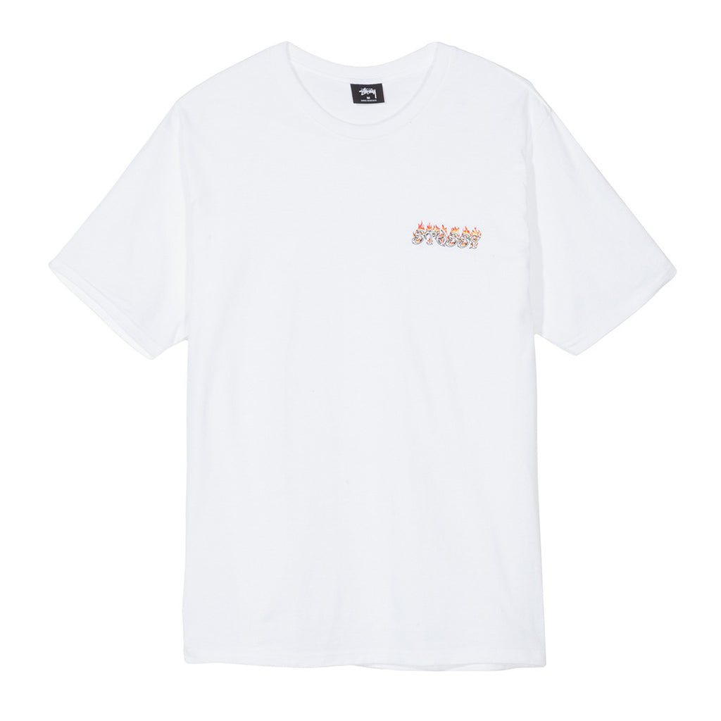 Pool Dragon Tee White