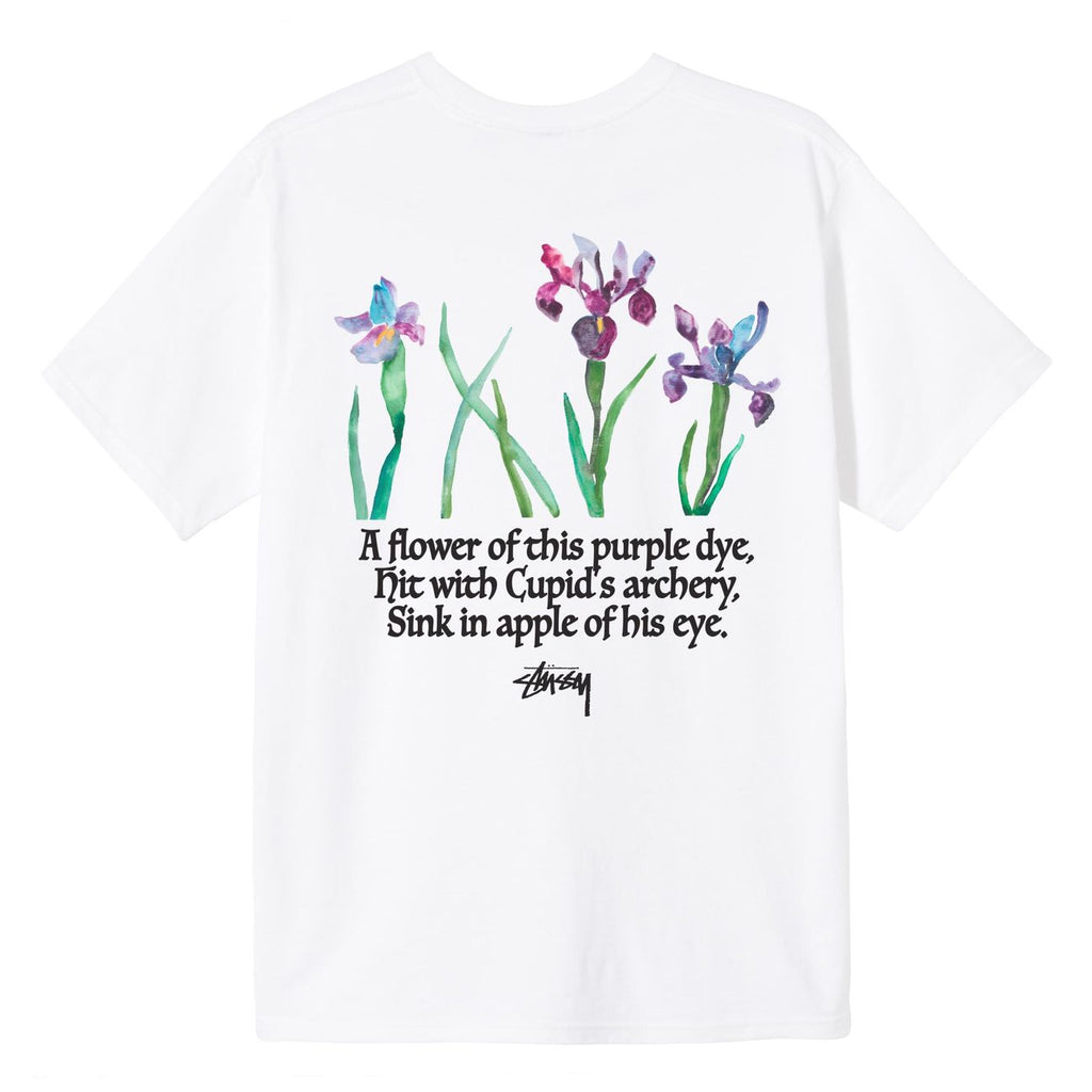 Water Flowers Tee 1904633 White