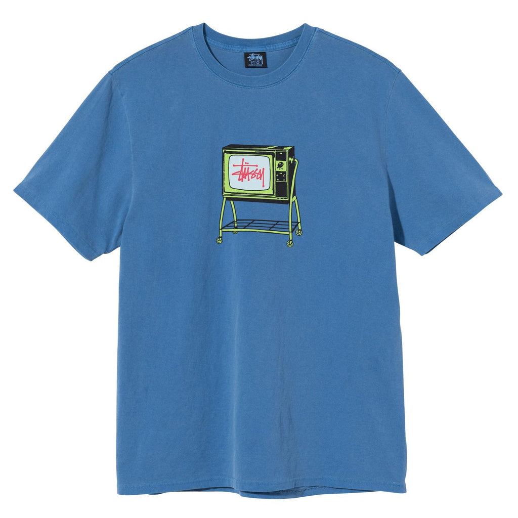 Rolling TV Dyed Tee 1904672 Blue