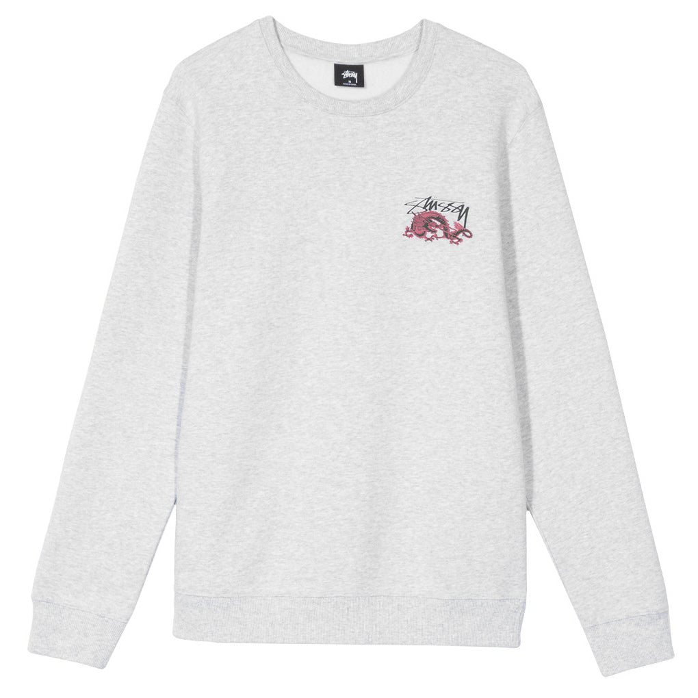 Dynasty Crewneck Sweater Ash Heather
