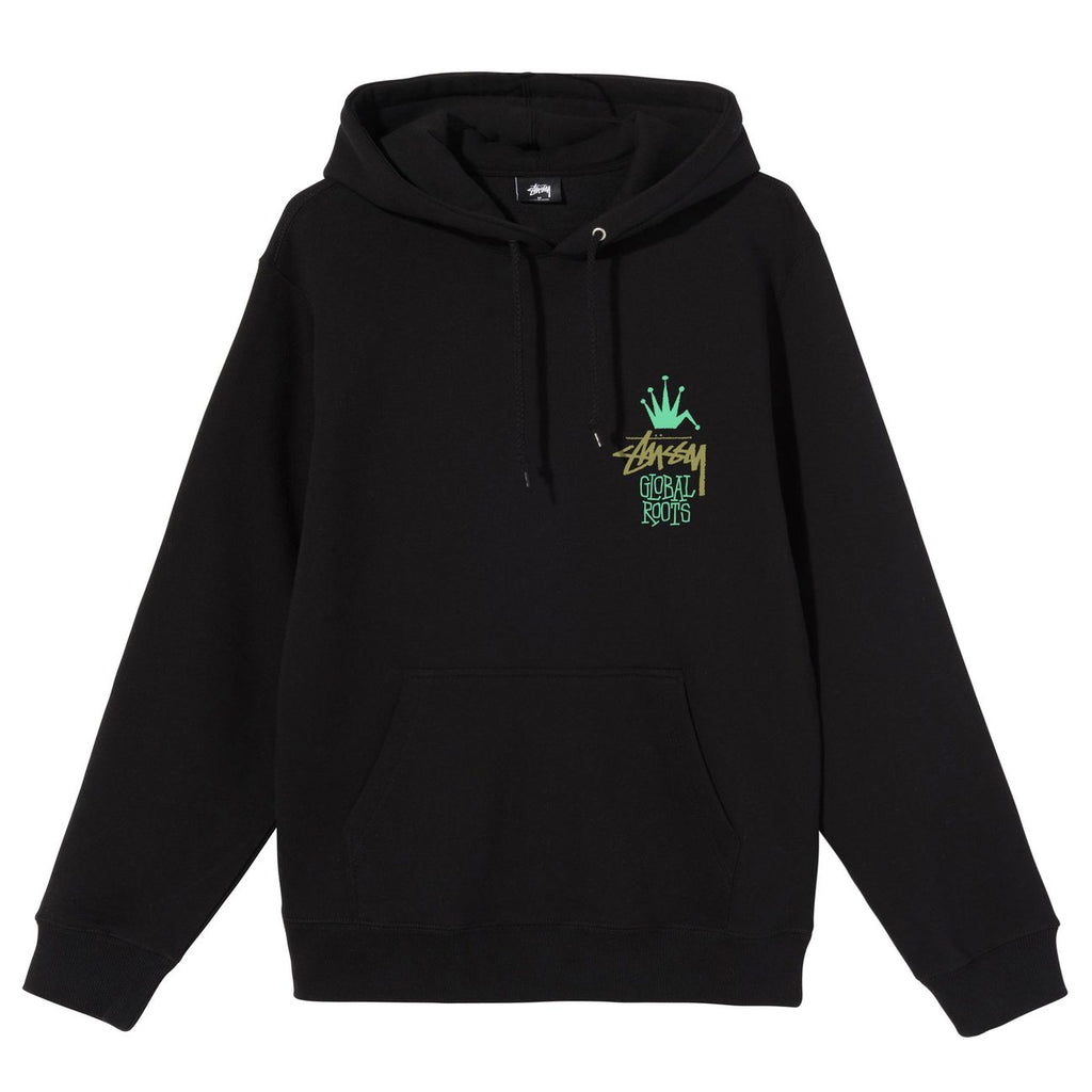 Global Roots Hoodie 1924622 Black