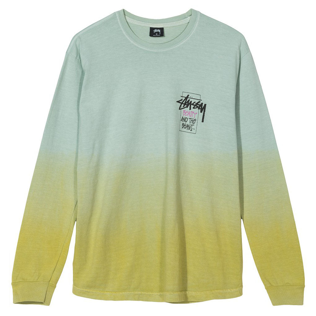 Offering Dip Dyed L/S T 1994371 Lime