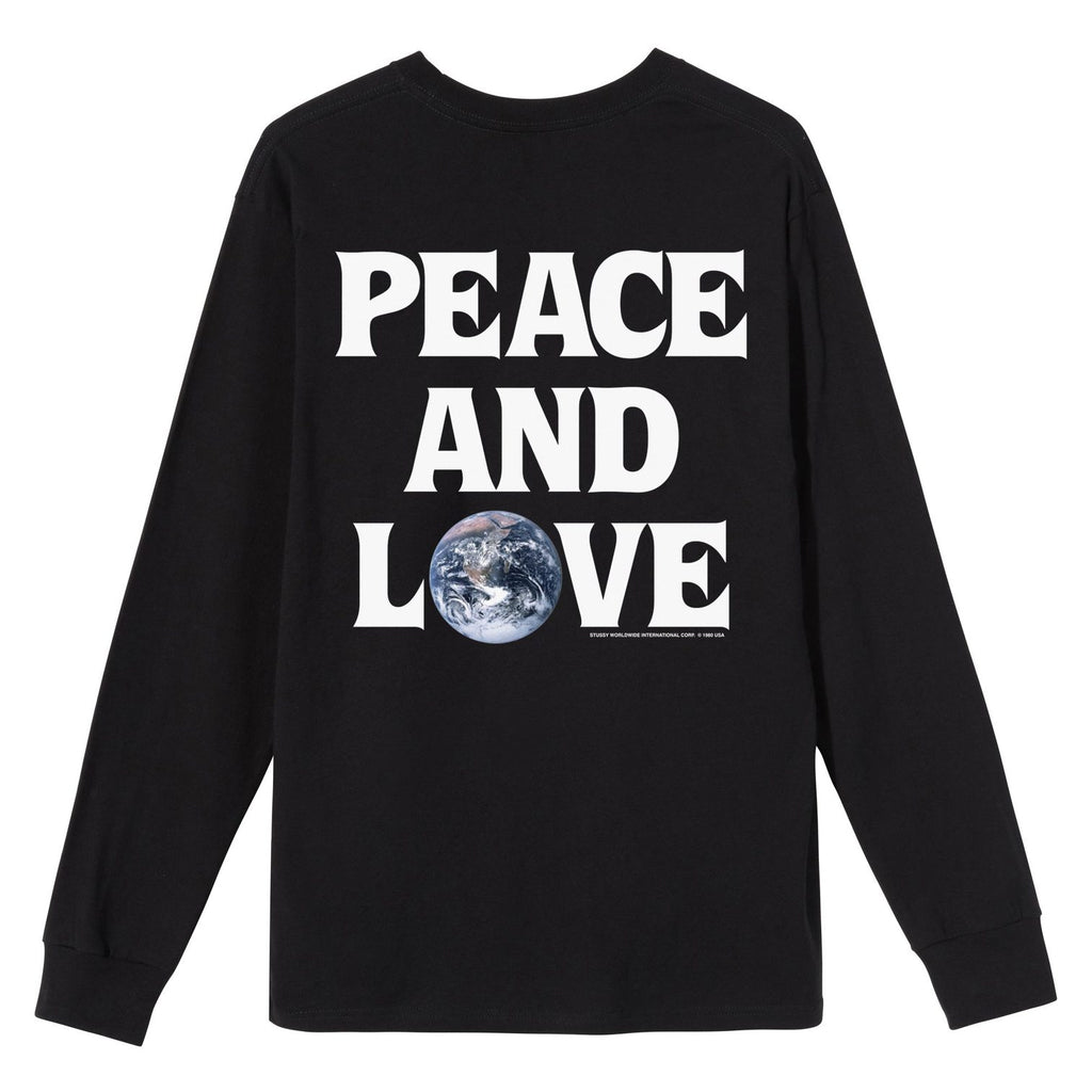 Peace & Love LS Tee 1994600 Black