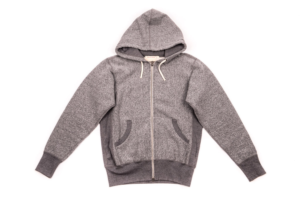 Capsule Plus Zip Hoody Grey