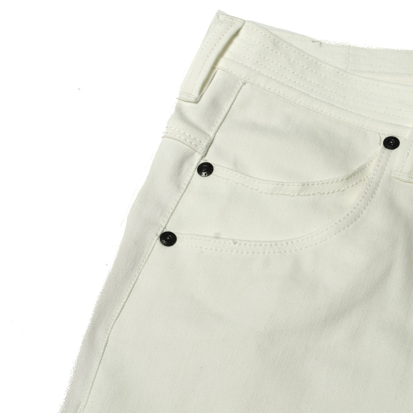 C5 Tapered Jean White