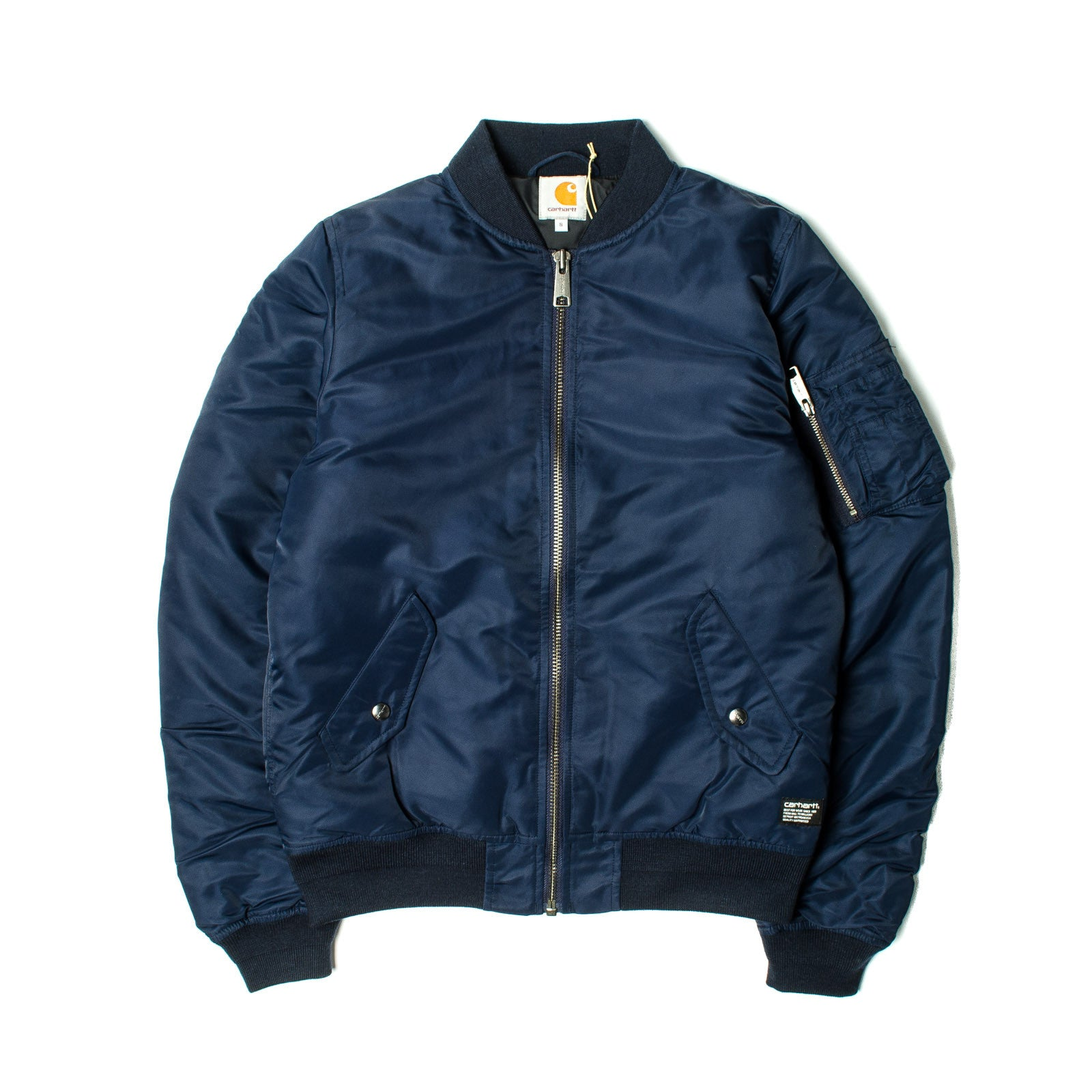 Ashton Bomber Jacket Navy