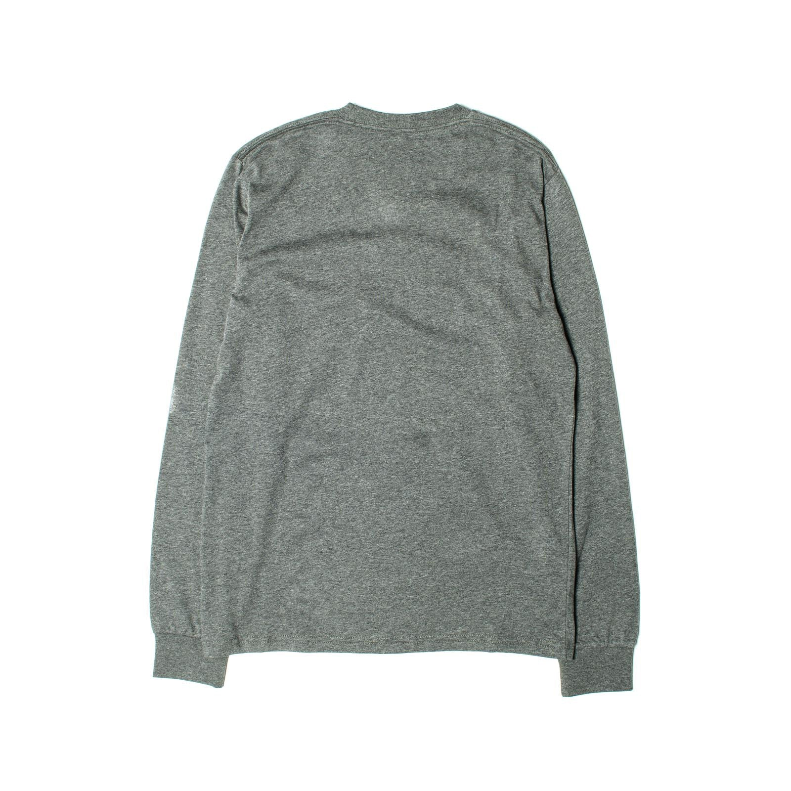 L/S Pocket Tee Grey Heather