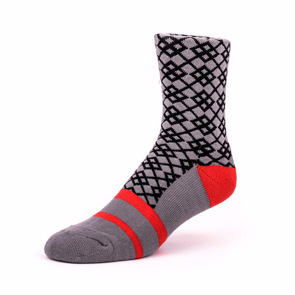 Ribbon Socks Grey