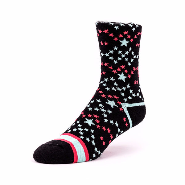 Star Socks Black