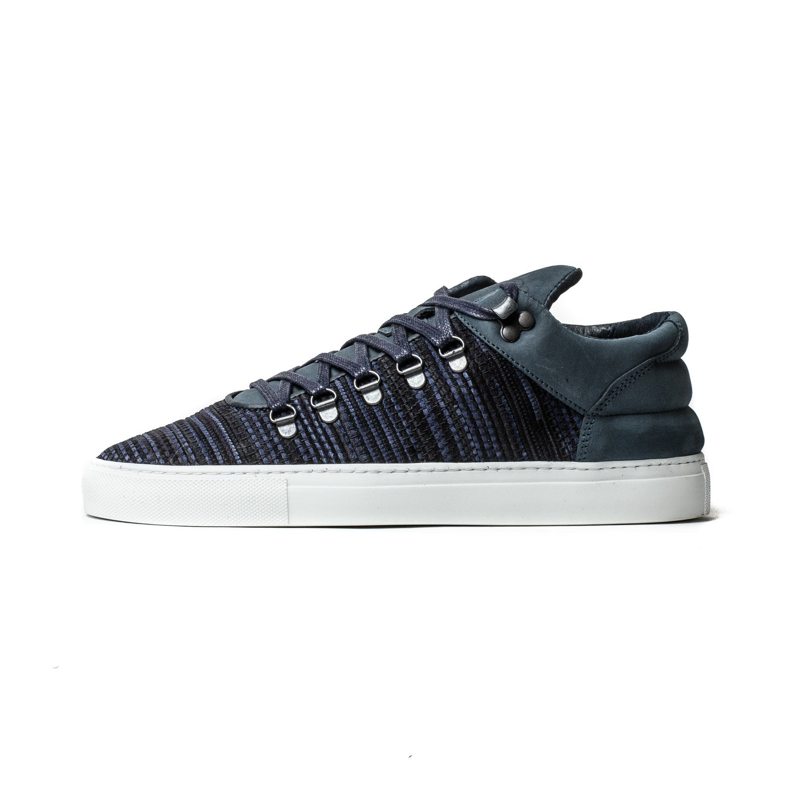 Nubuck Rug Mountain Cut Navy 1050021