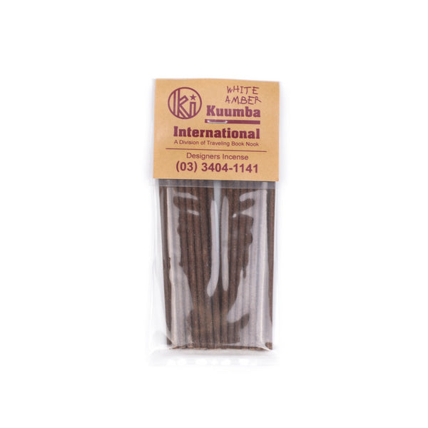 White Amber Mini Incense
