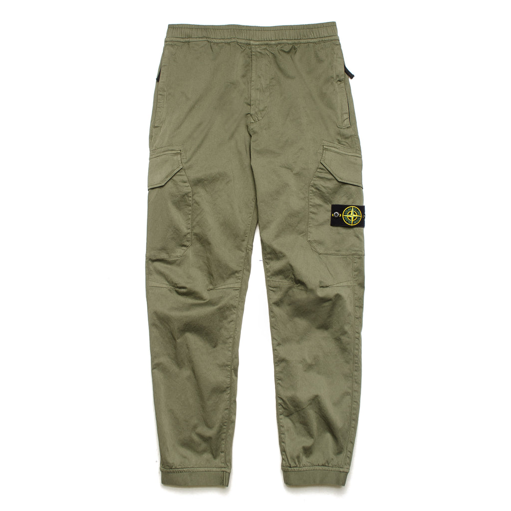 Cargo Pant with Flap Pockets 721531409 Olive