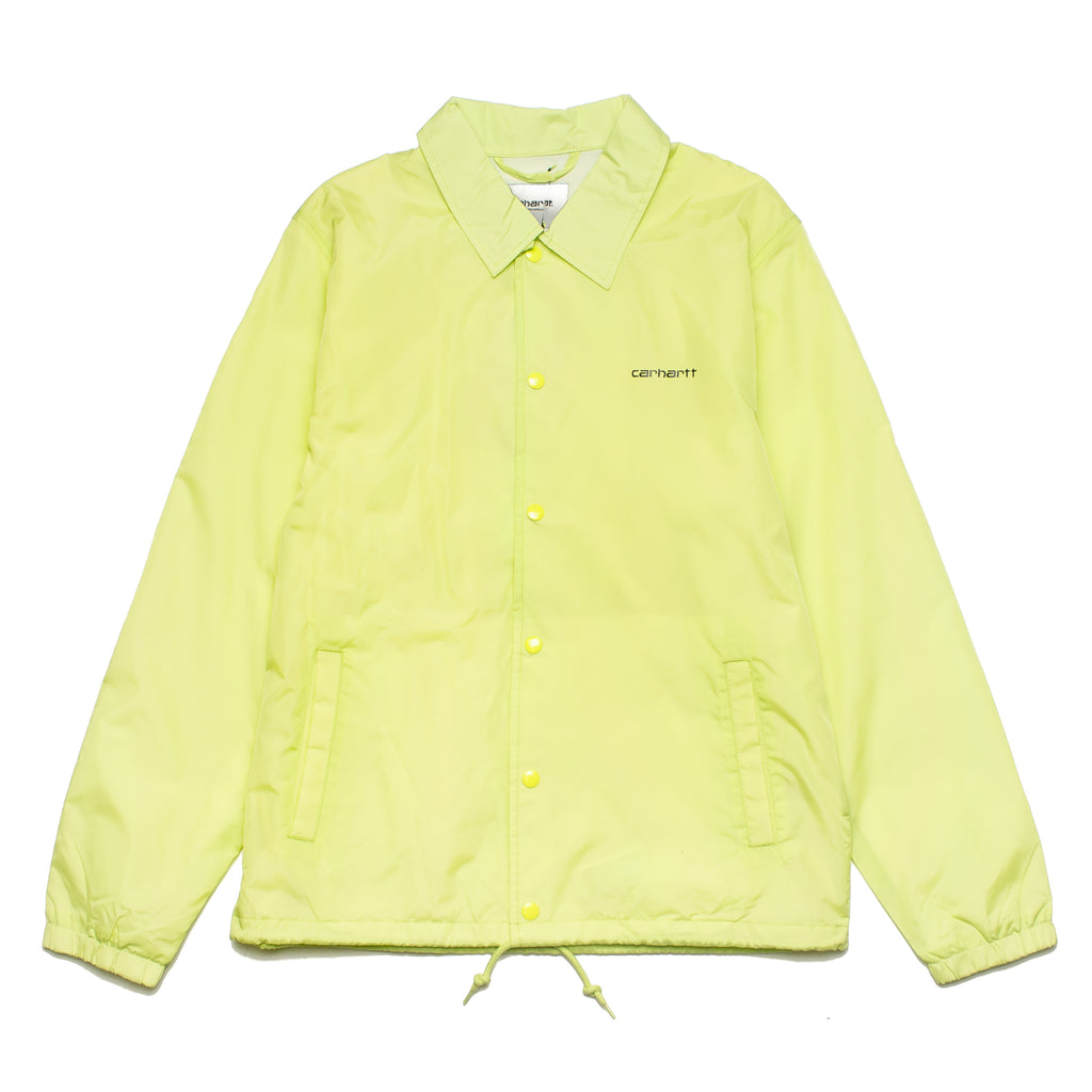 Script Coach Jacket I027784 Lime