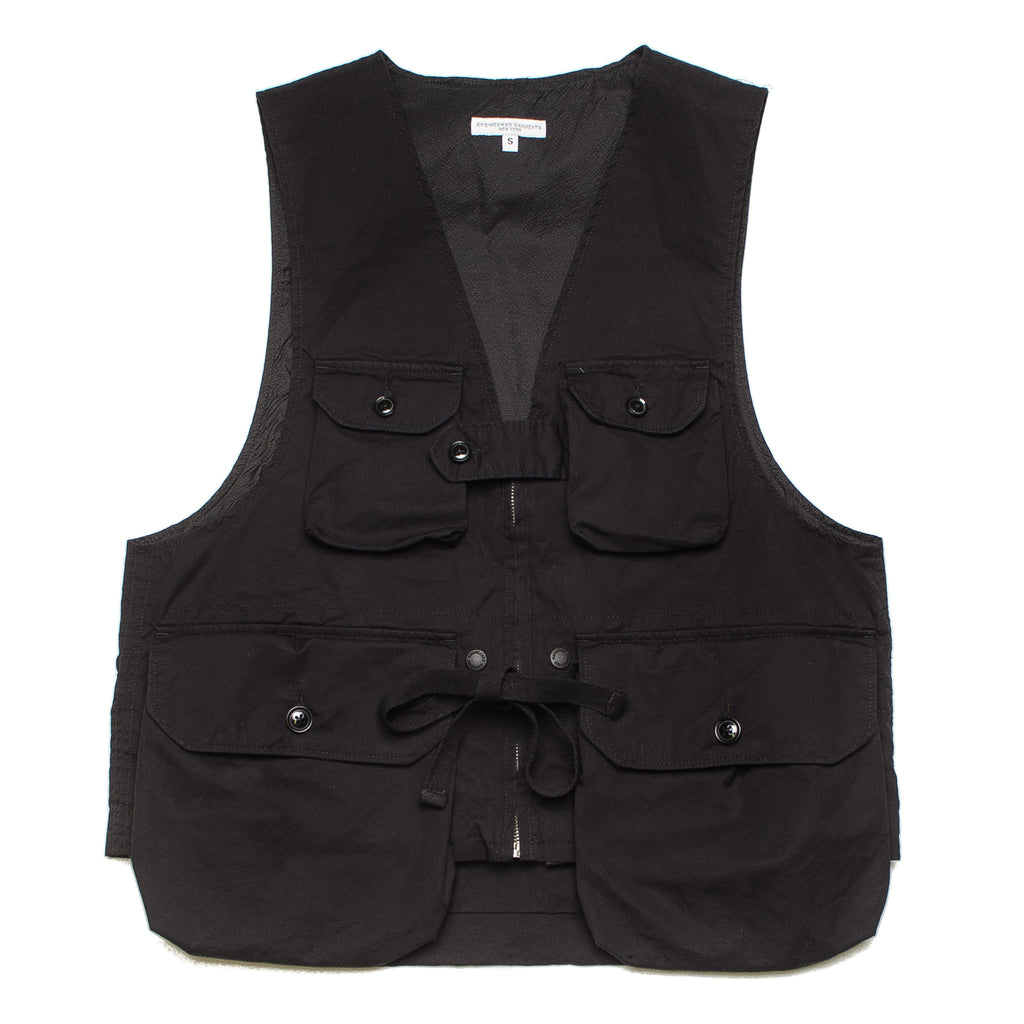 Game Vest Highcount Twill 20S1C007 PB017 Black