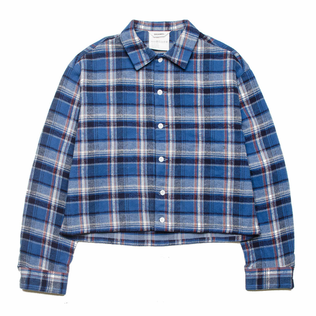 Nel Check Blouson DWSOA010 Blue Check