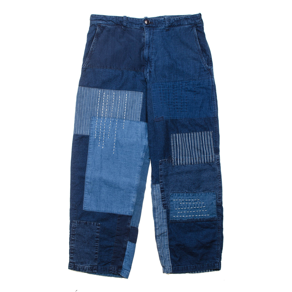 Indigo Light Flannel Relax Pant J6076