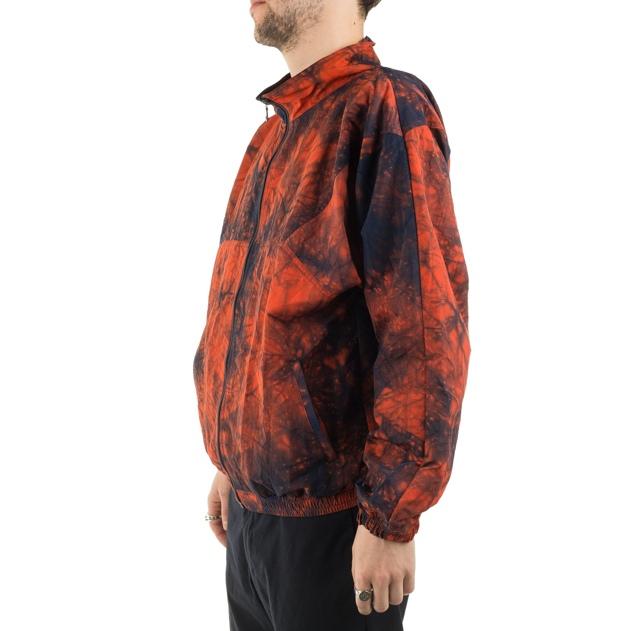 Kagozome Nylon Oxford Jacket J6039 Orange