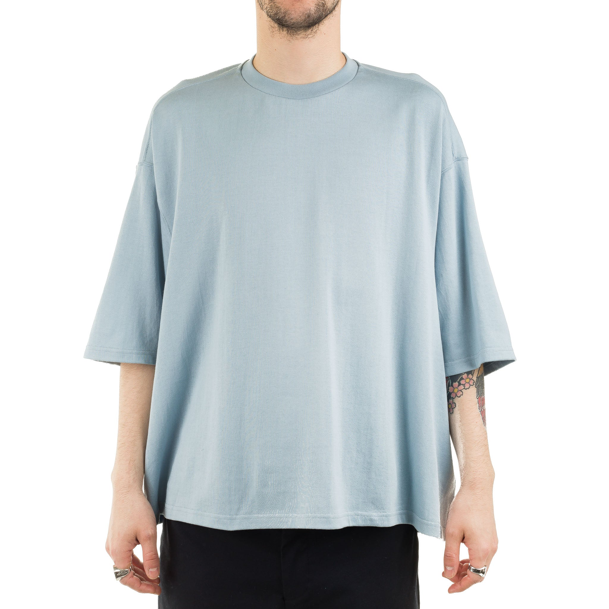 Short Length S/S Tee DWSOA058 Sax