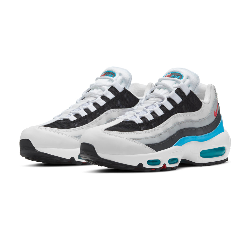 Air Max 95 CV6971-100 White/Lt Fusion Red
