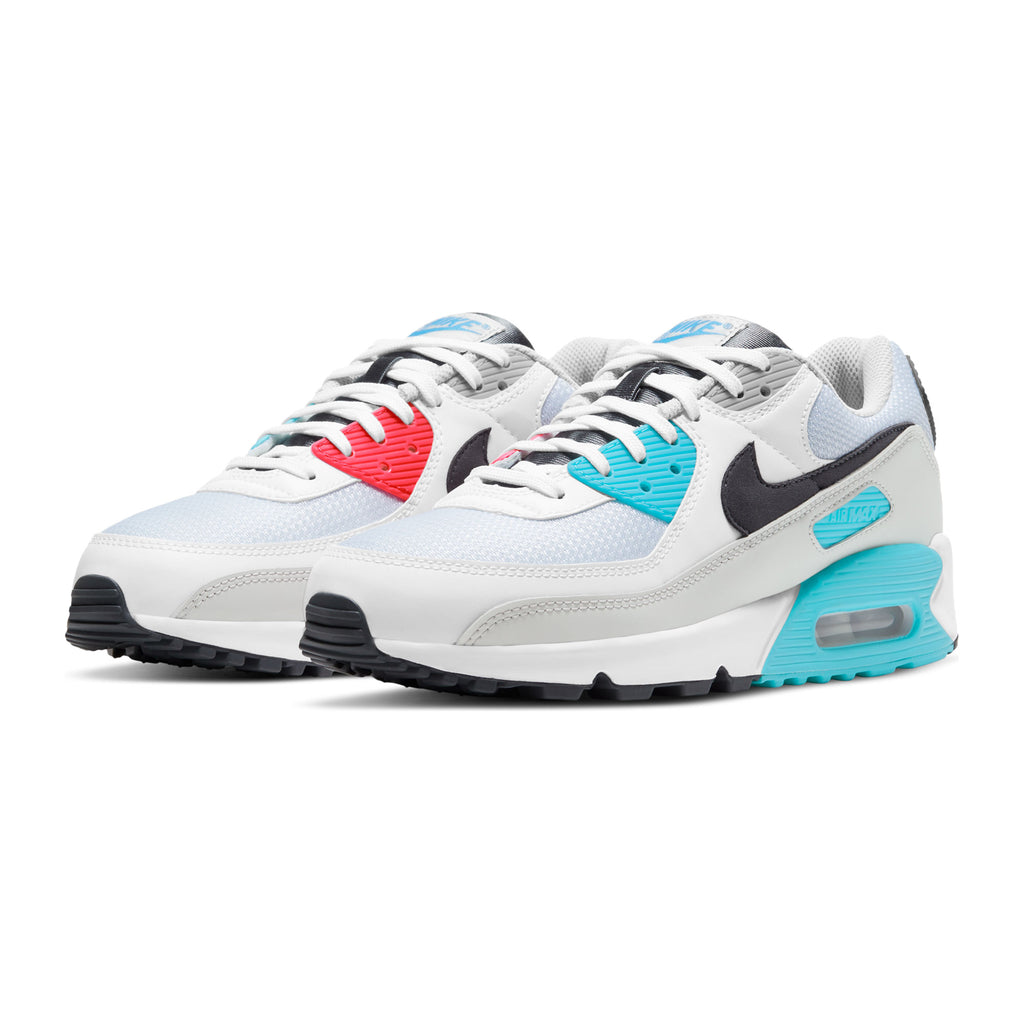 Air Max 90 CV8839-100 White/Iron Grey