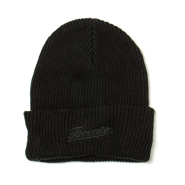 Capsule Toronto Beanie AS Black/Black