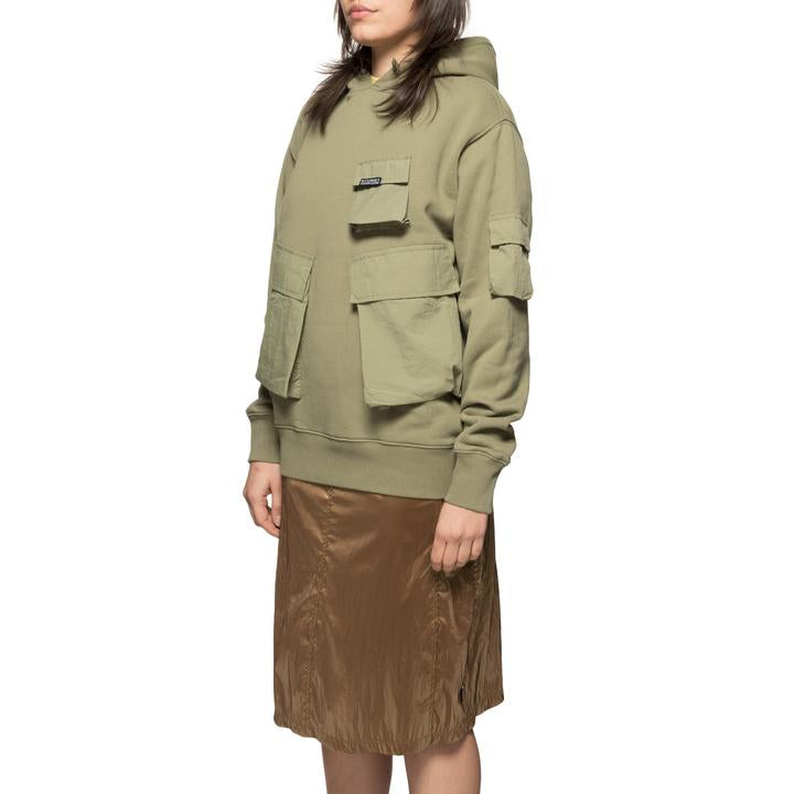Cargo Fleece Hood 218097 Khaki