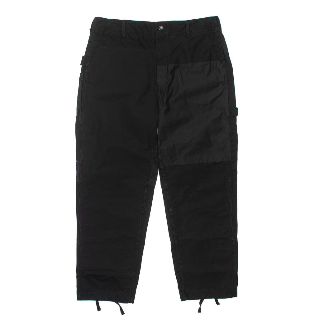 Painter Pant Double Cloth 19FF005 Black
