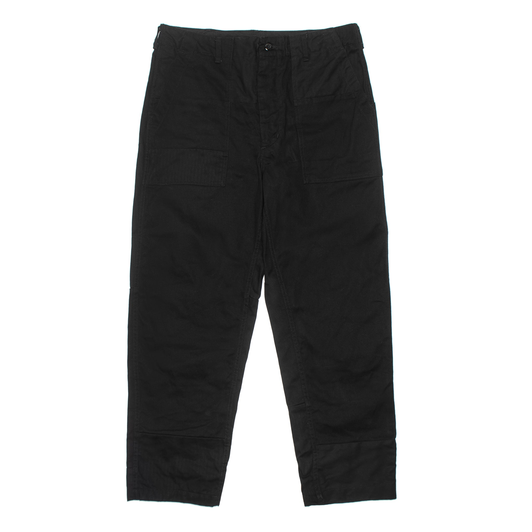 Fatigue Pant Heavy Twill 19FF004 Black