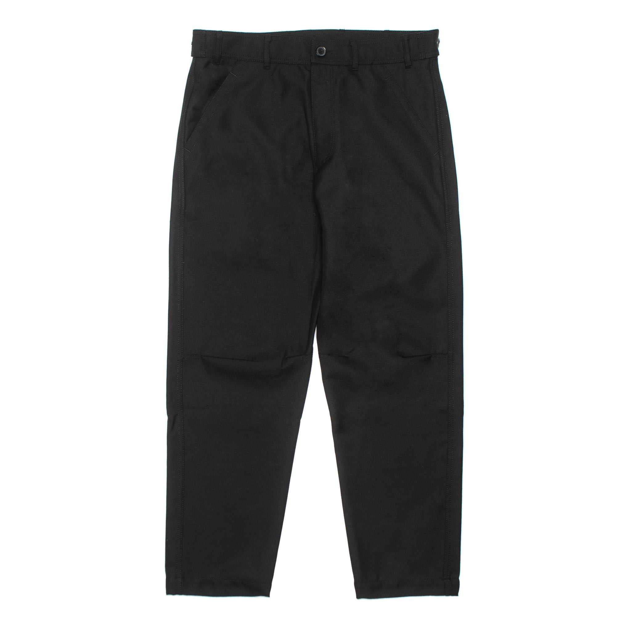 CDG SHIRT Wool Twill Pants W27130 Black