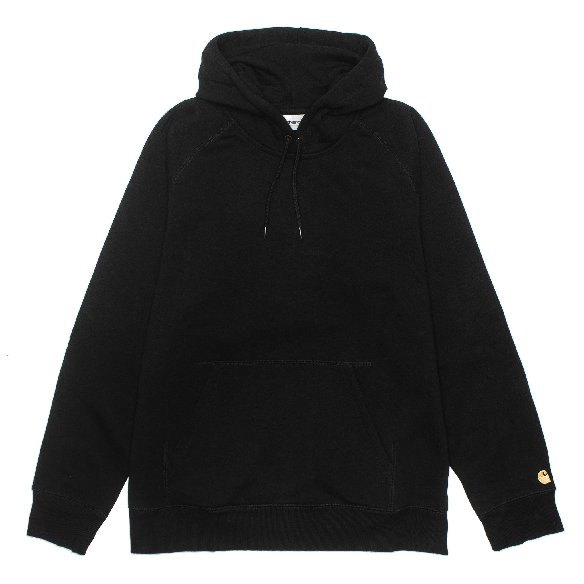 Hooded Chase Sweat Black/Gold I026384