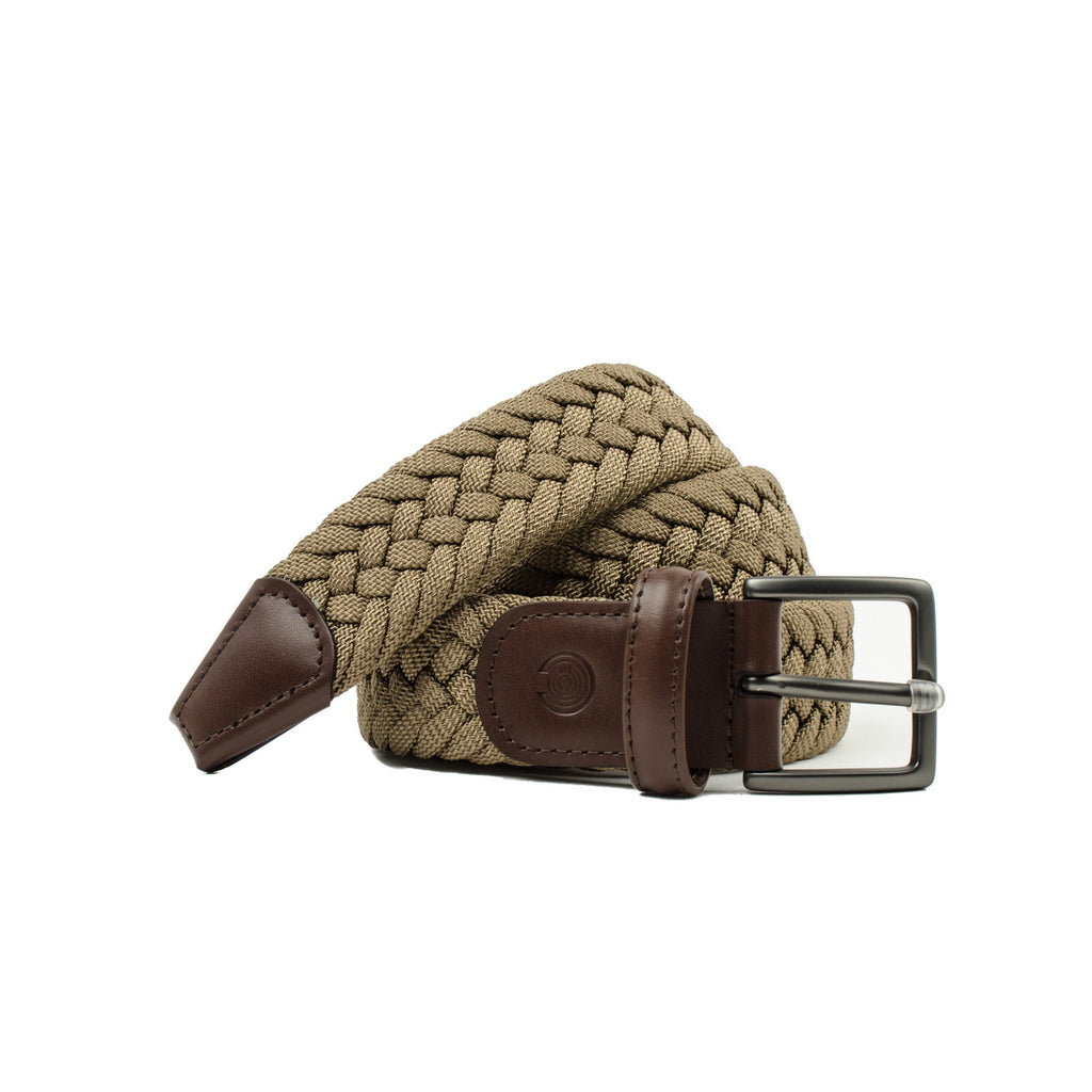 Anderson's For Capsule Woven Belts Brown
