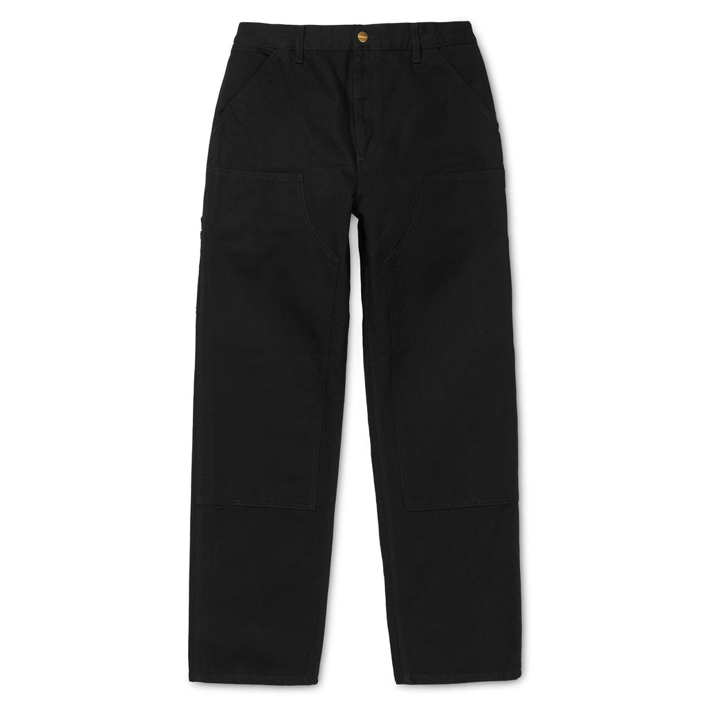 Double Knee Pant Organic Cotton Black L32 I026489