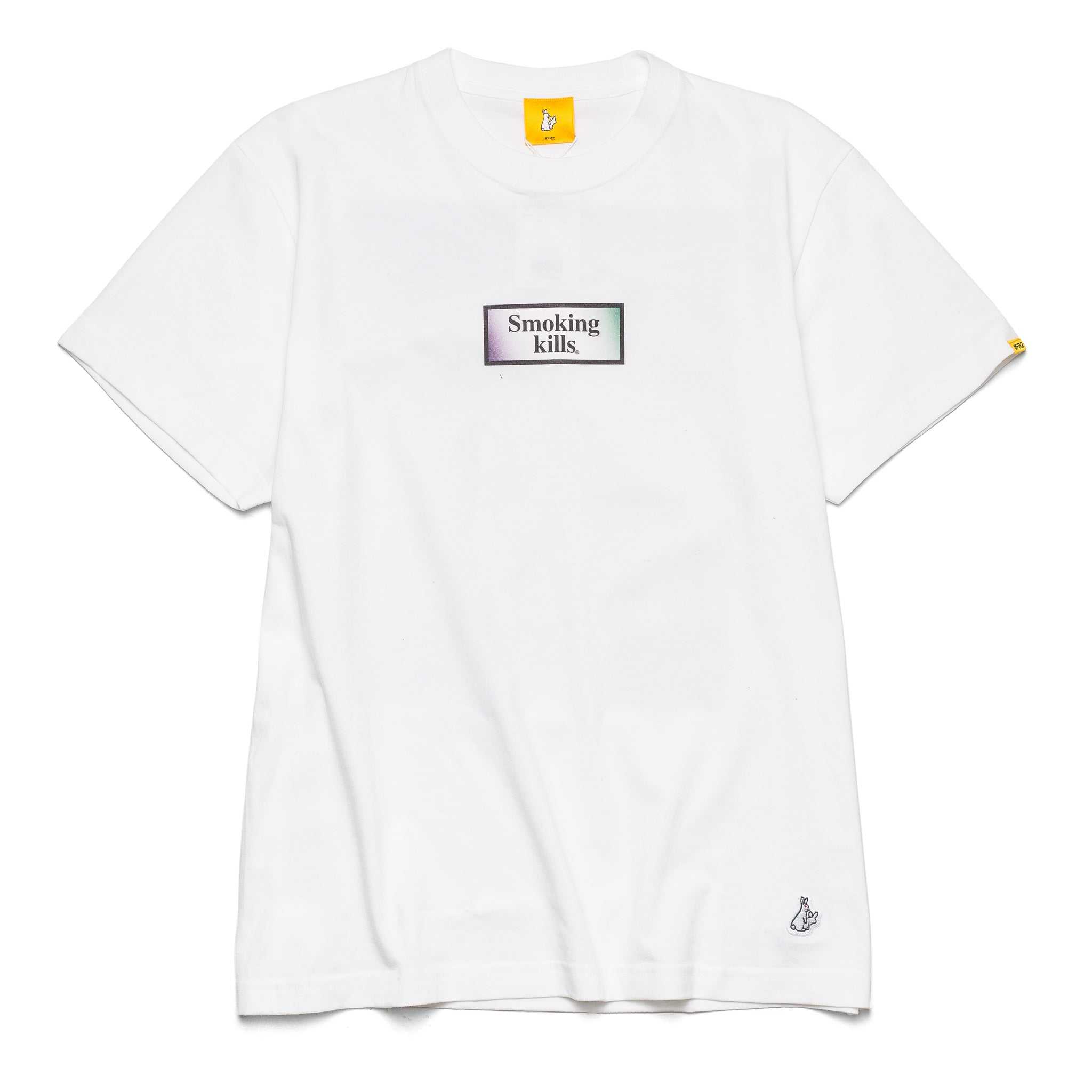 Ukiyoe Smoking Kills Tee White