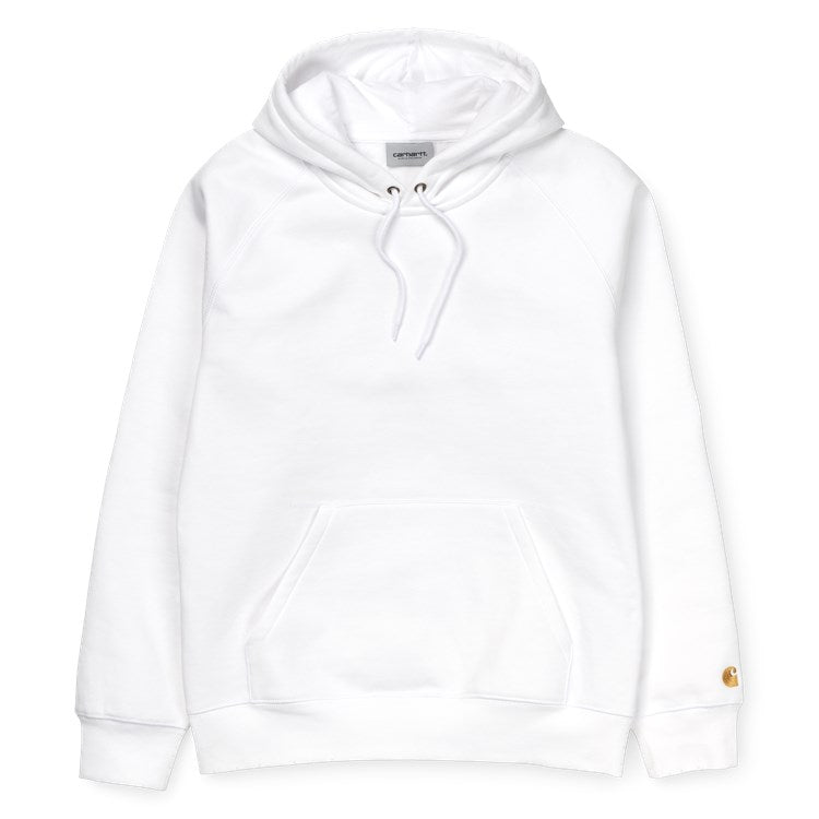 Hooded Chase Sweat White/Gold I026384