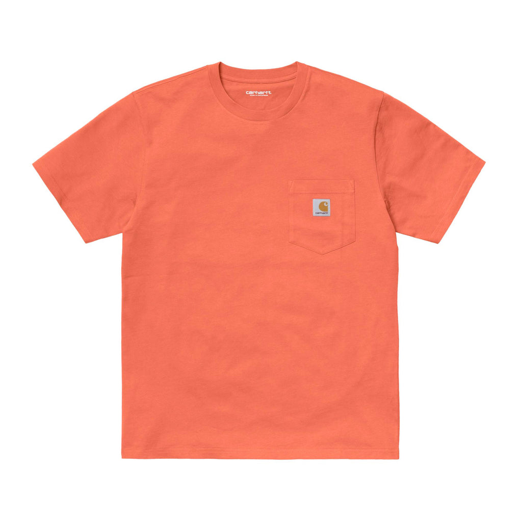 S/S Pocket Tee I022091 Shrimp