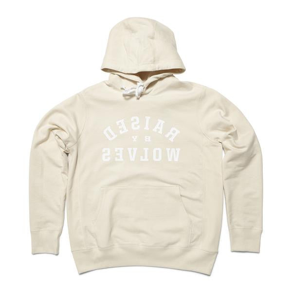 Mirror Hooded Sweatshirt Cream