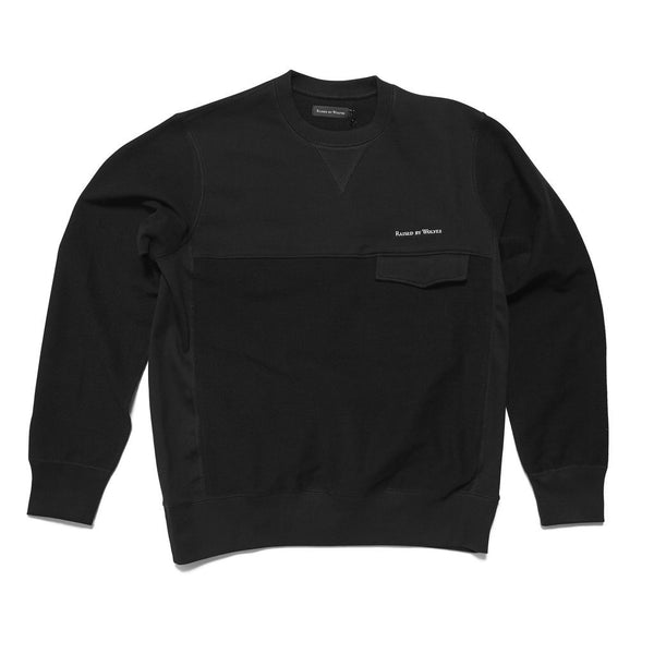 Windsor Crewneck Sweatshirt Black