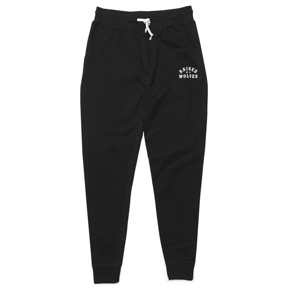 College Sweatpants Black