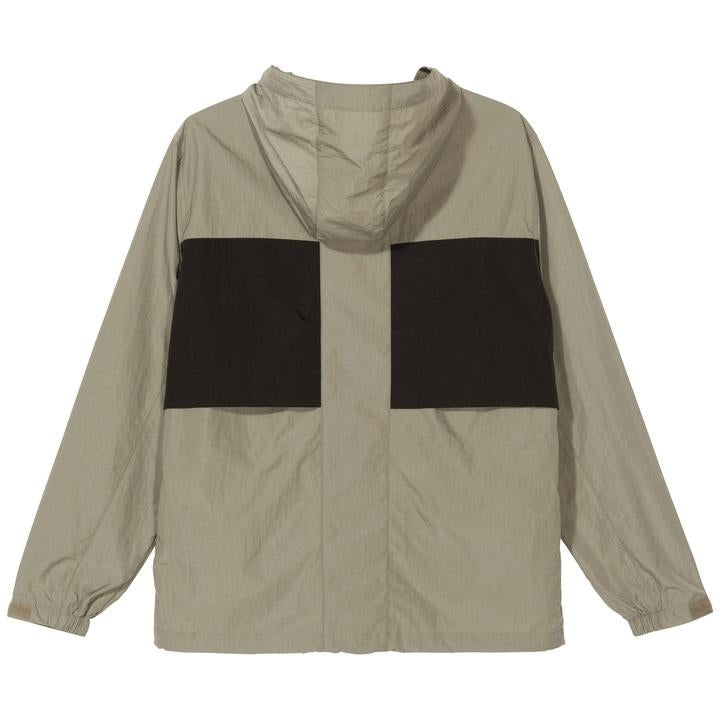 Block Tech Jacket 115503 Khaki