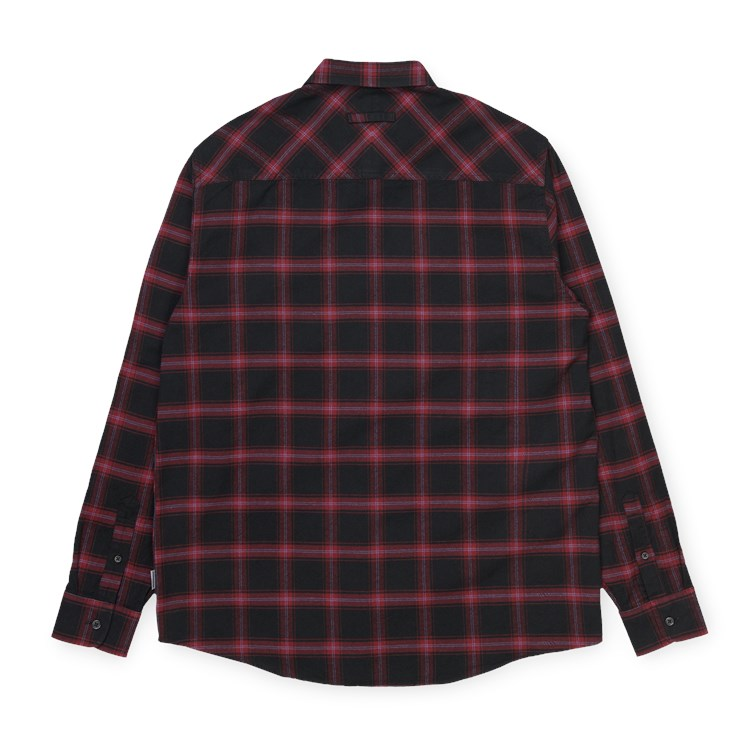 L/S Darren Shirt I028231 Bordeaux