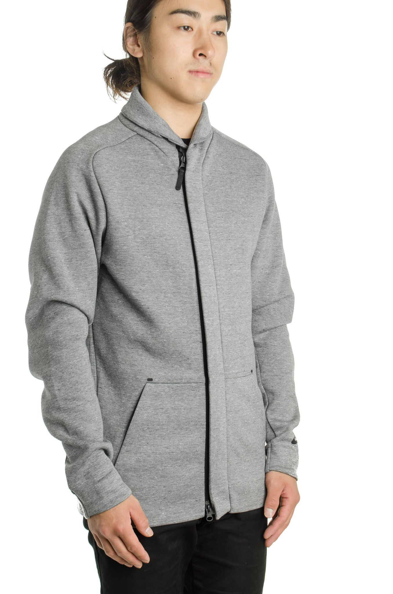 Tech Fleece Jacket  805164-091 Grey