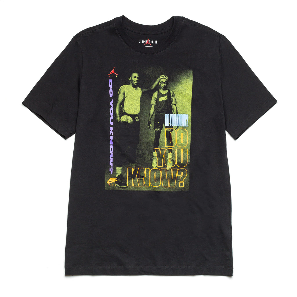 AJ3 Do You Know Tee DD5253-010 Black