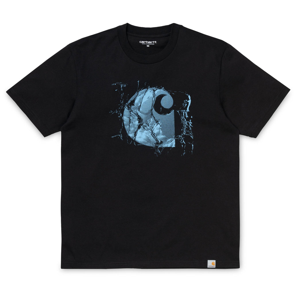S/S Broken Glass Tee Black I026427