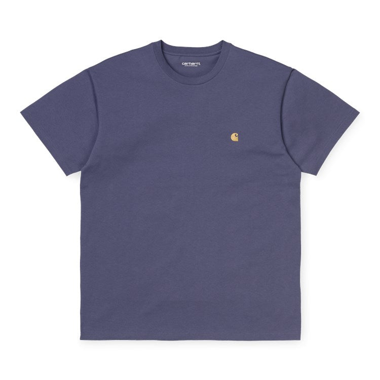 S/S Chase Tee Cold Viola/Gold I026391