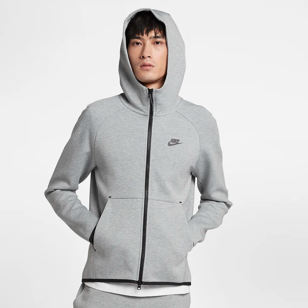 Tech Fleece Zip Hoodie 928483-063 Grey