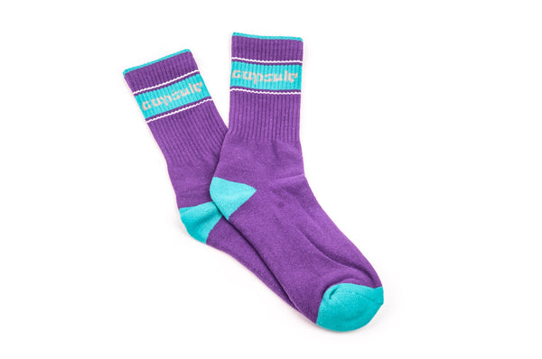 Classic Socks Purple/Blue