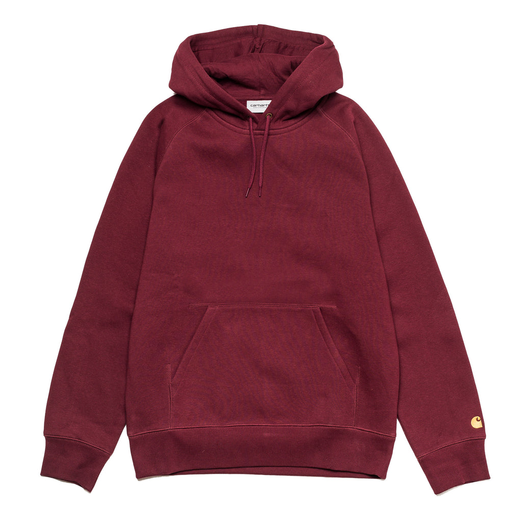 Hooded Chase Sweat Bordeaux I026384