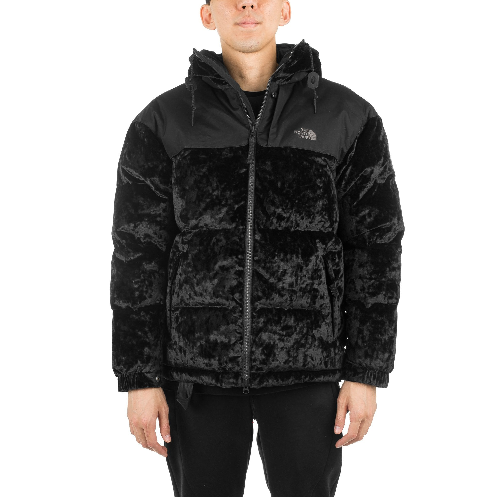 URBAN Velvet NPTS Jacket Black