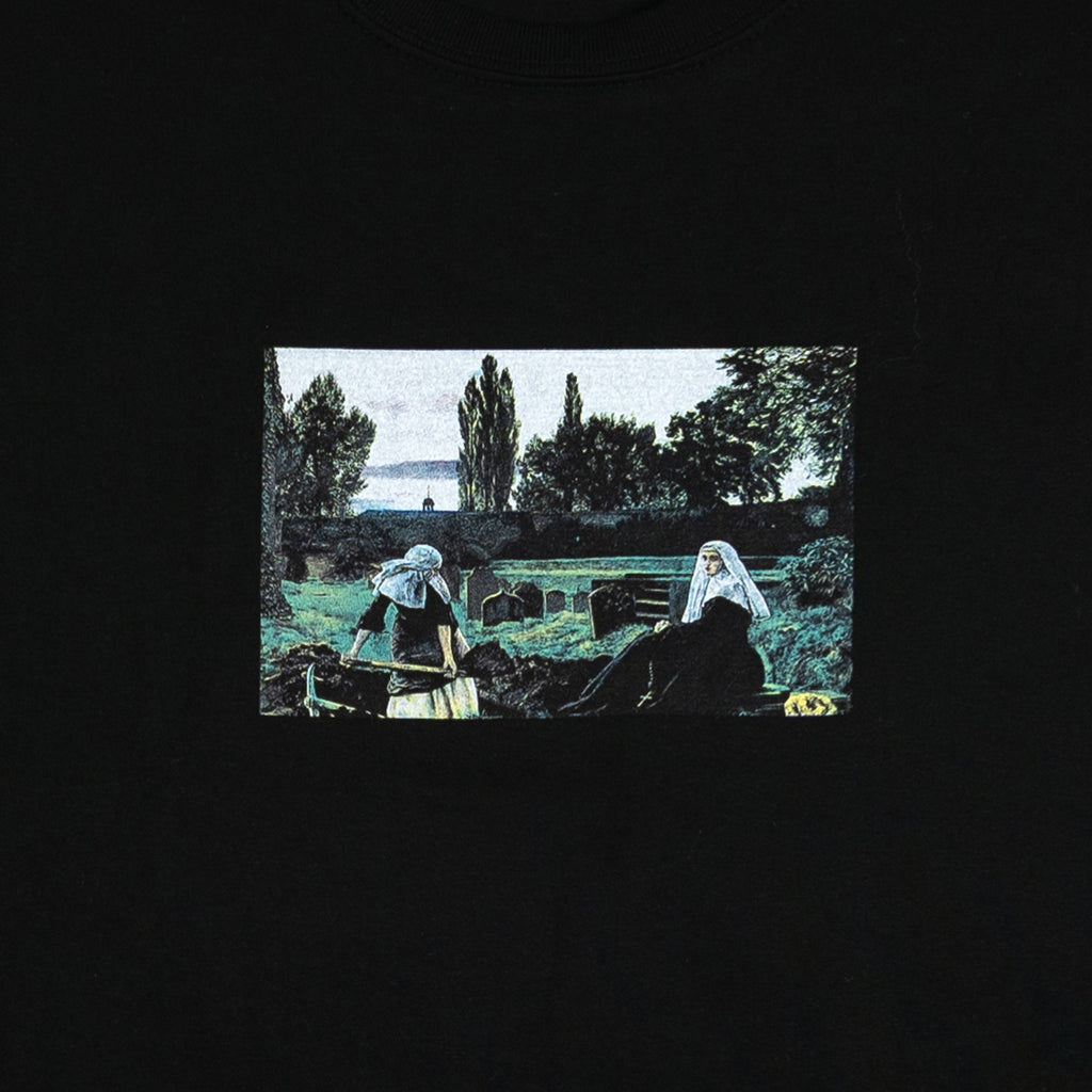 Veil of Rest Tee Black