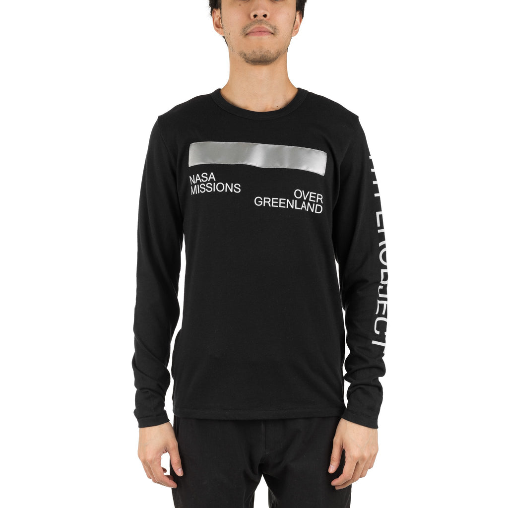 Arc Printed LS Tee PLS10001 Black